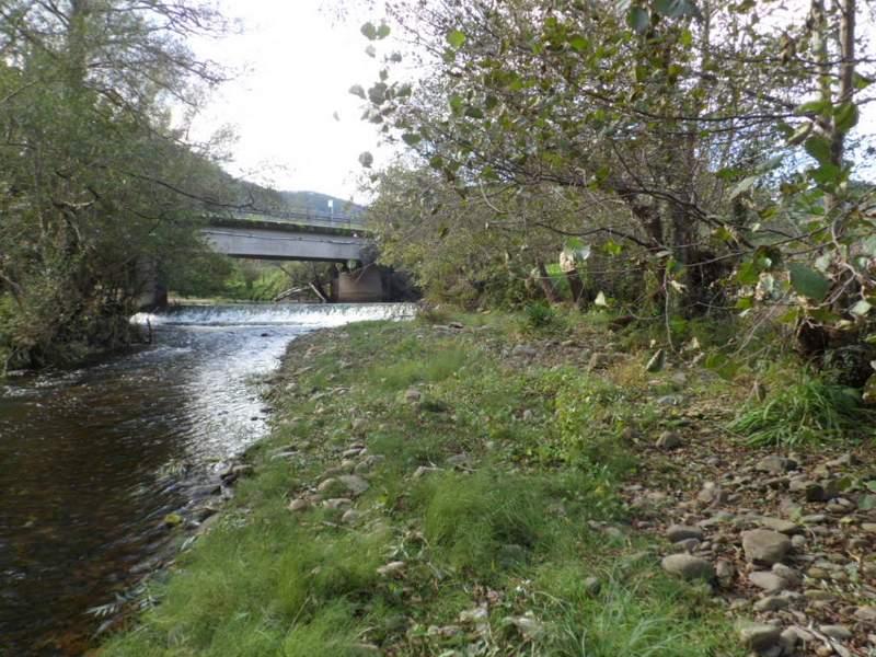 Estado incial del río Llorín