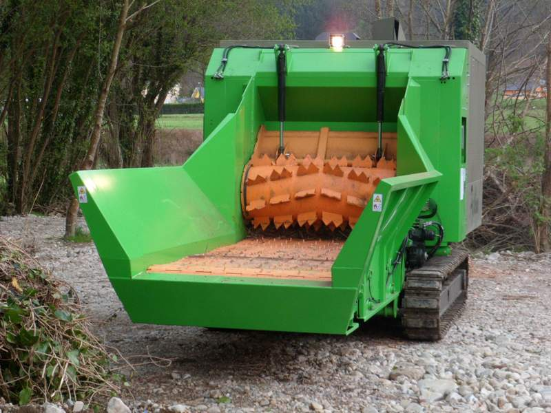Máquina de trituración