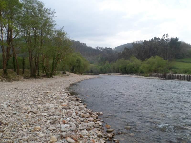 Estado final de la obra del río Esva