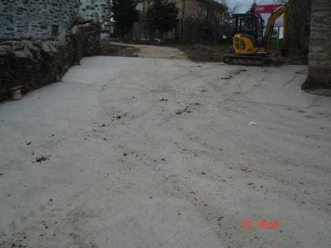Construcciones Lucas Garcia - Abastecimiento y saneamiento en Manzanal de Arriba (Zamora) - Construcciones Lucas García, S.L.